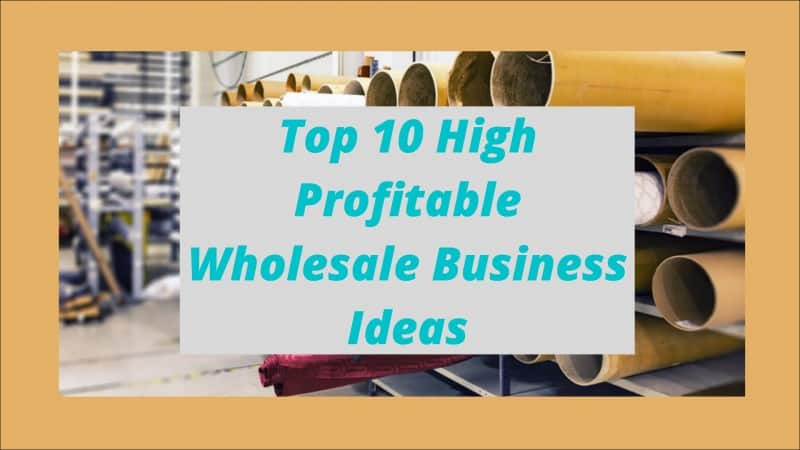 Top 10 Highly Profitable Wholesale Business Ideas