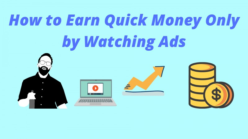 How to Earn Money By Watching Ads Per Day