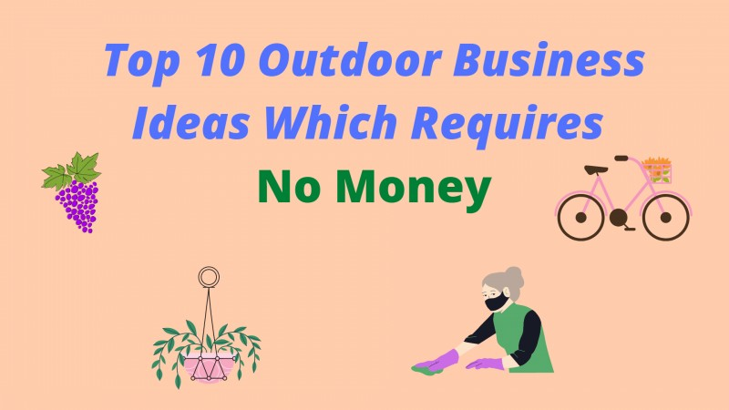 Outdoor business ideas