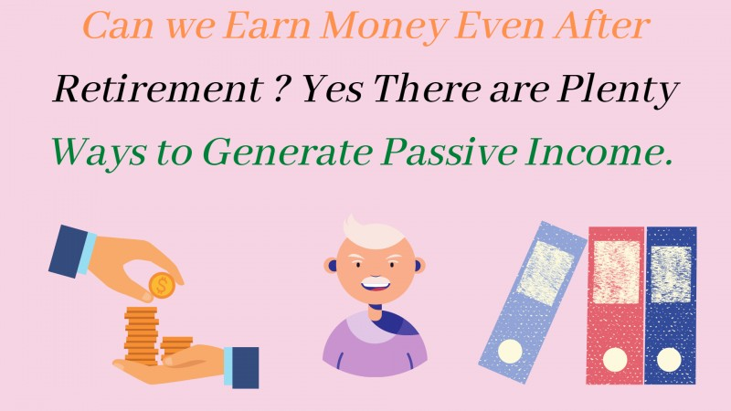 How to earn money after retirement in india