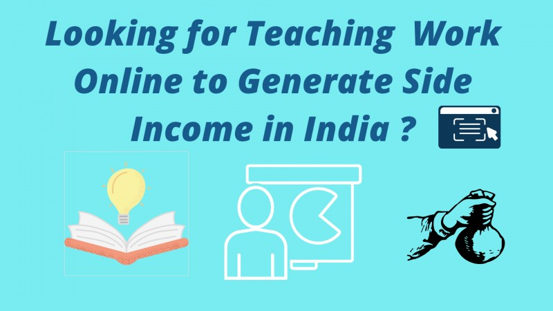 Teach Online and Earn Money in India