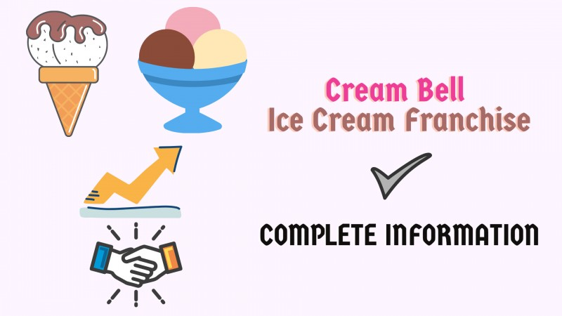 Start Own Ice-Cream Parlour with Cream Bell Ice Cream Franchise