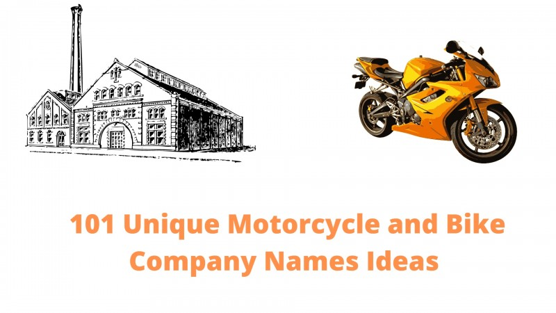 101 Unique Motorcycle and Bike Company Names Ideas