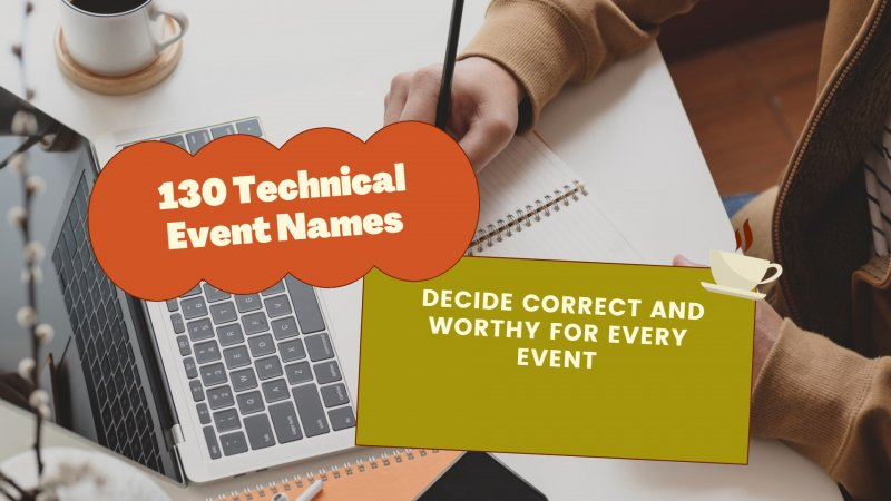 Technical Event Names